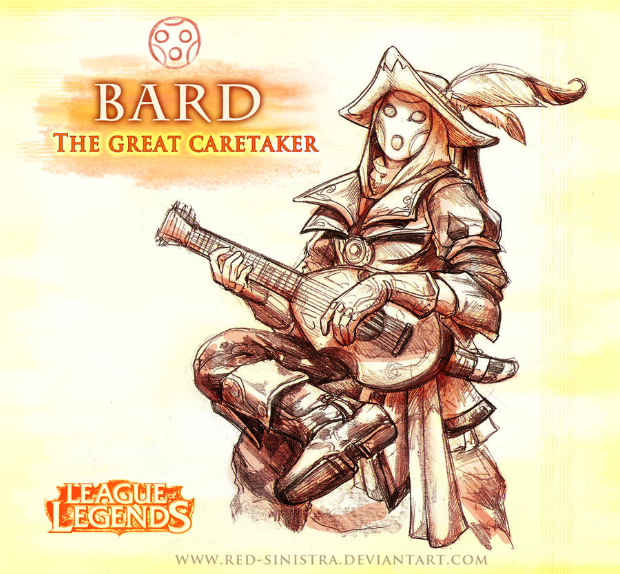 League of Legends: BARD (version 1) by Red-Sinistra on DeviantArt