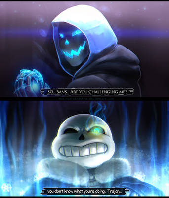 Undertale: Challenge by Red-Sinistra