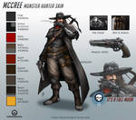 Overwatch - Monster Hunter McCree - Skin Concept