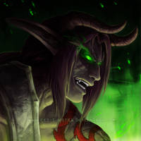 WoW - Demon Hunter - I'll keep an *eye* on you by Red-Sinistra