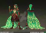 League of Legends - Elderwood Rakan (Fan Skin)