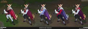 League of Legends-Debonair Rakan (color variation)