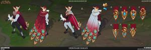 League of Legends - Debonair Rakan Variations