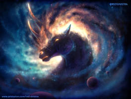 Junicorn 1 | Astrallon - The Celestial Steed by Red-Sinistra