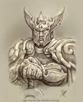 WoW - Gryaen , The Alliance Paladin (Pencil)