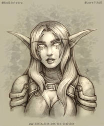 WoW - Lore, The Rogue (Pencil)