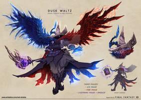 Final Fantasy XIV - The Dusk Waltz (Fan Concept)
