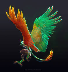 DnD - Emerald Wings