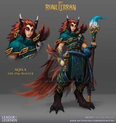 My Runeterran - Aquila, The Ink Master
