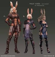 FFXIV - Male Viera Exploration