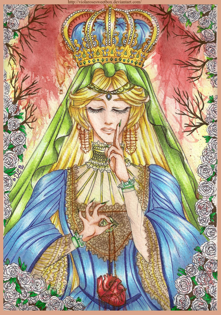 The high priestess by ViolaRoseSweetbox