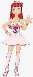Sakurako Honoka in Casual Outfit by CapricornDiem456