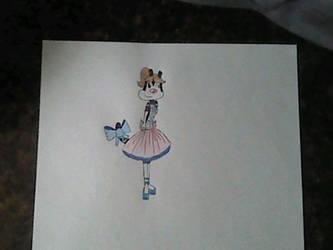 Tisha Sillytoon in her Formal Dress by CapricornDiem456