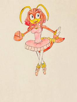 New Sonic OC: Marlene the Lobster