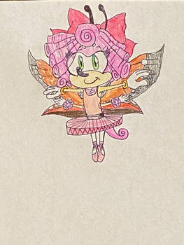 New Sonic OC: Iris the Butterfly