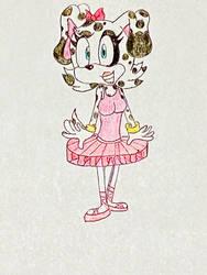 New Sonic OC: Laura-Sue the Dalmatian