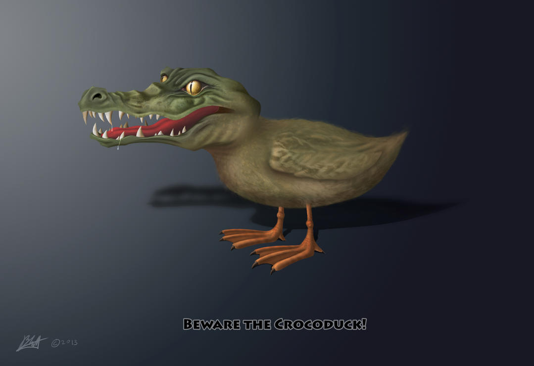 Crocoduck by BradML