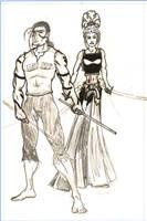Jake and Keri by MuShinGirl