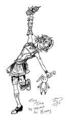 Tiny Tina 100dpi by MuShinGirl