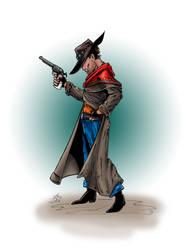 Gunslinger 100dpi color by MuShinGirl