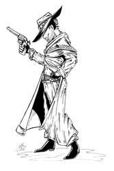 Gunslinger 100dpi by MuShinGirl