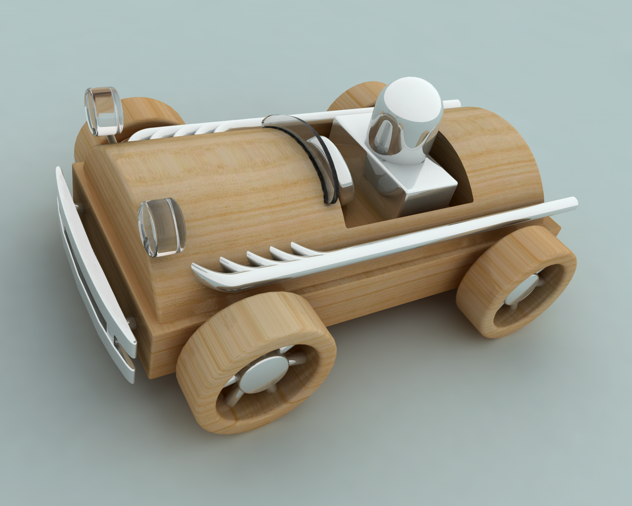 Wooden Toy Car for Print by drawzerRB on DeviantArt