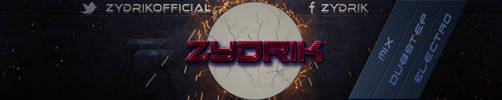 ZYDRIK | Banner by daminor26