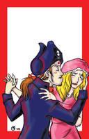 Pirates of Penzance poster by imabubble