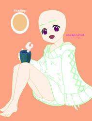 Little Girl Base by animecat26