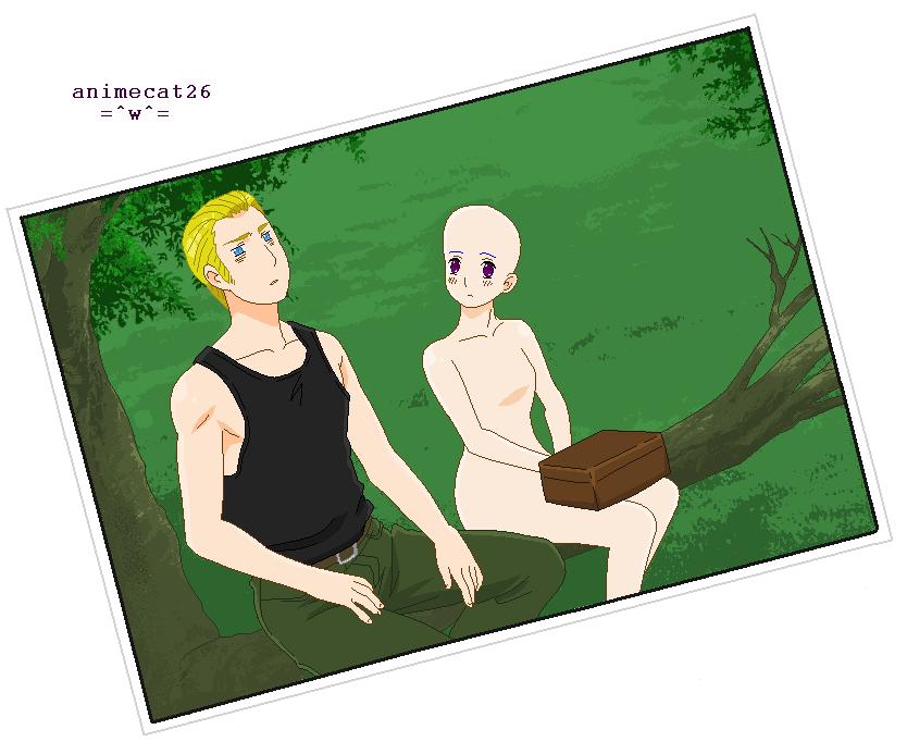 GermanyxOC-In A Tree by animecat26