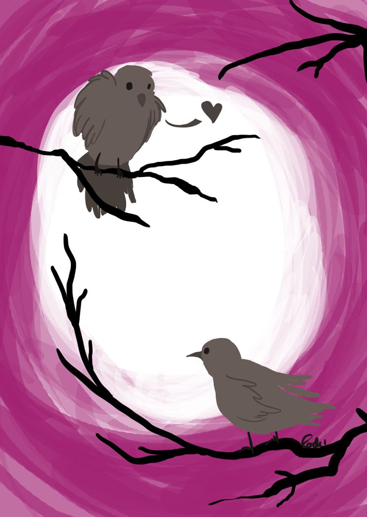 Lovebirds by Tigersrock144