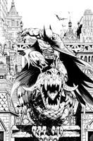 Batman issue 670 Cover by JonathanGlapion