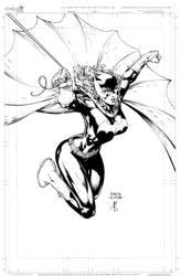 Batgirl commission by JonathanGlapion