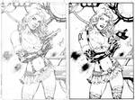 Aphrodite IX before and after