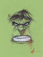 Hulk warmup by JonathanGlapion