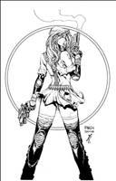 APHRODITY IX COMMISSION INKS by JonathanGlapion