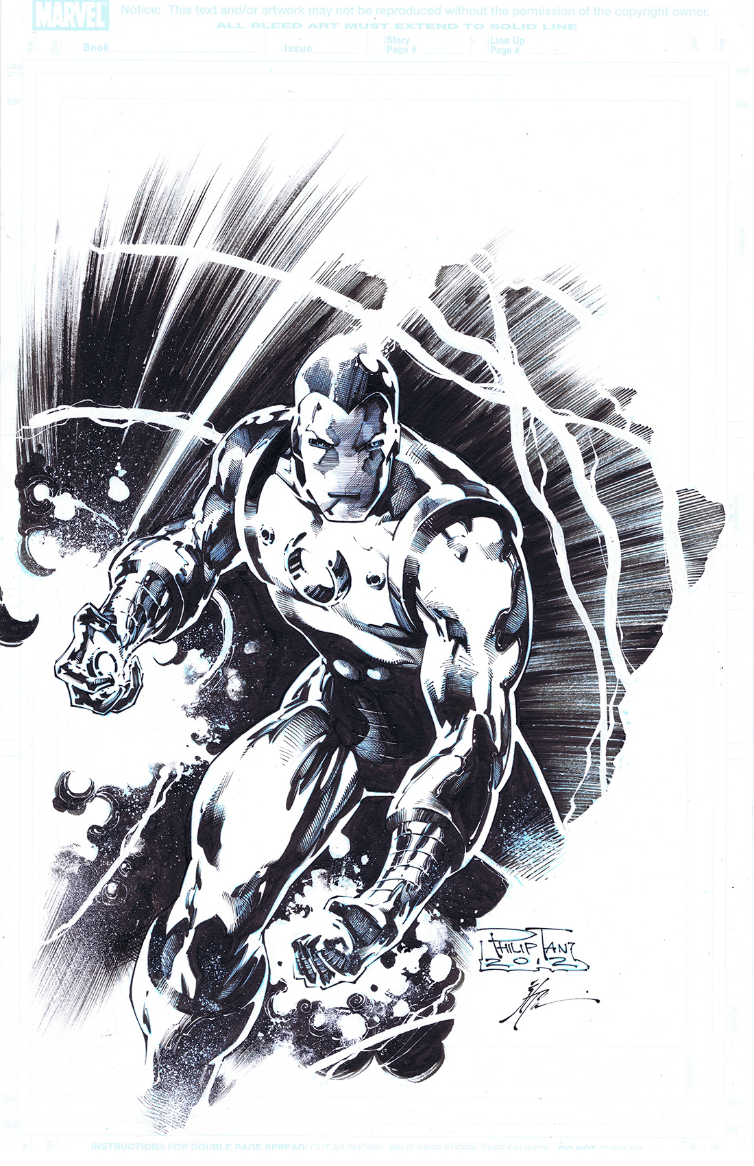 Iron Man by JonathanGlapion