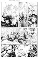 JLA issue 12 pg16 by JonathanGlapion