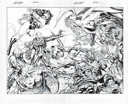 Robin Rises: Omega 1 page 26-27