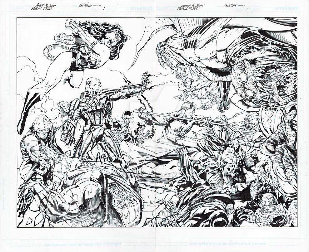 Robin Rises: Omega 1 page 26-27 by JonathanGlapion