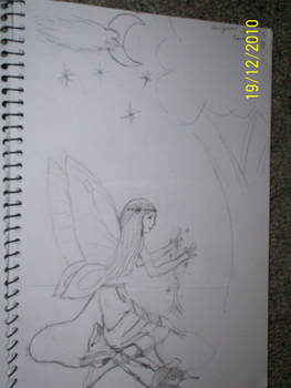 Sketch - Earth Fairy