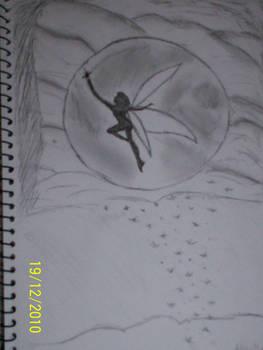 Sketch - Moon Fairy