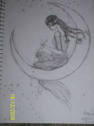 Sketch - Moon Fairy 2