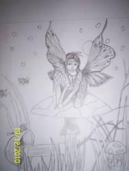 Sketch - Mushroom Fairy