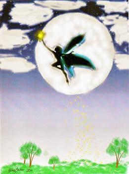 Moon Fairy Photoshop version