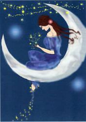 Moon Fairy 2 Photoshop