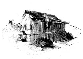 Indian Village House by DarylAlexsy