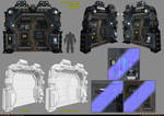 Sci-Fi Module - Door [UDK]
