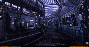 Sci-Fi Corridor v.1 [UDK]