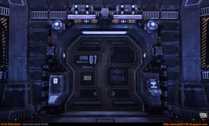 Sci-Fi Corridor v.1 - Close-Up 1 [UDK]